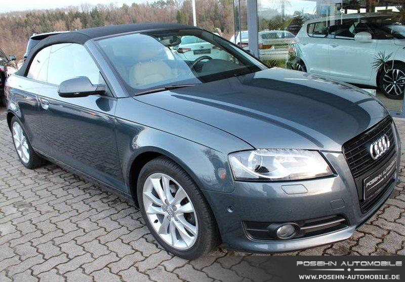 audi a3 cabriolet 1 6 tdi dpf ambition xenon. Black Bedroom Furniture Sets. Home Design Ideas