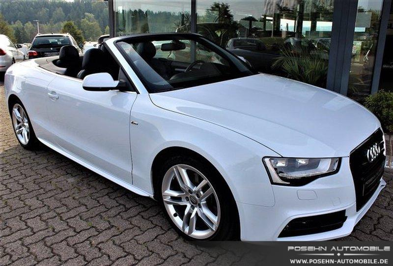 audi a5 cabriolet 2 0 tdi 2x s line b o keyless go navi. Black Bedroom Furniture Sets. Home Design Ideas