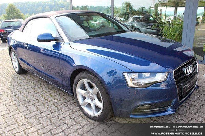 audi a5 cabrio 2 0 tdi leder navi plus b o 130kw gebraucht kaufen in hechingen preis 26750 eur. Black Bedroom Furniture Sets. Home Design Ideas