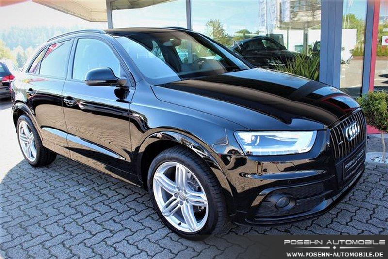 audi q3 2 0 tdi quattro 2x s line keyless xenon navi leder gebraucht kaufen in hechingen preis. Black Bedroom Furniture Sets. Home Design Ideas