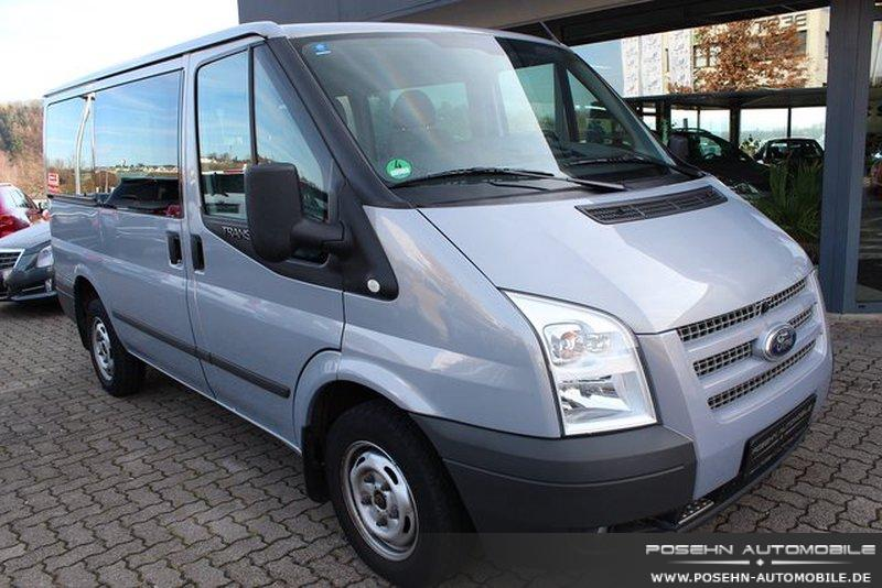 ford transit ft 300 k 2 2 tdci va pkw trend doppelklima 6 9 sitzer gebraucht kaufen in hechingen. Black Bedroom Furniture Sets. Home Design Ideas