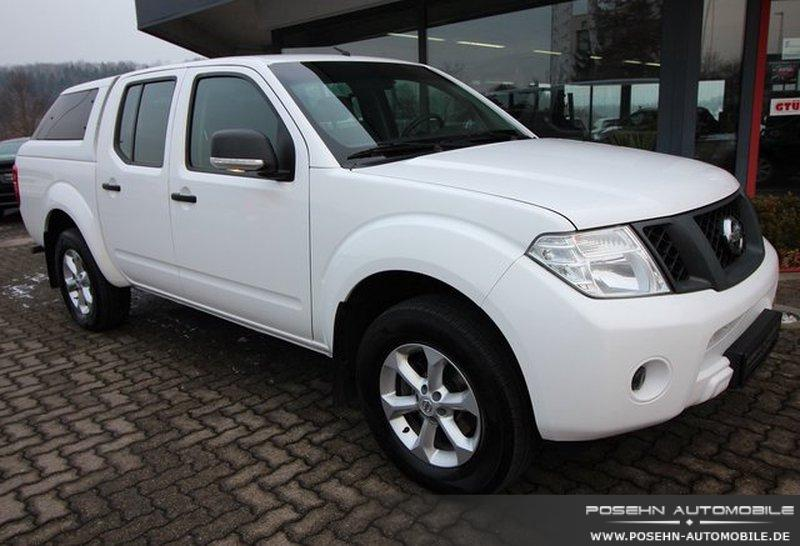nissan navara pick up double cab xe 4x4 ahk hardtop. Black Bedroom Furniture Sets. Home Design Ideas